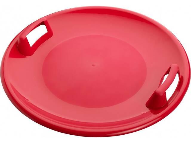 Ледянка круглая пластиковая Kronos Toys диск НЛО 61 см Красный (WSP170024_2)- объявление о продаже  в Киеве