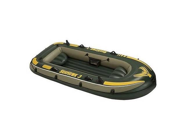 Лодка надувная Intex 68349 Seahawkна на 3 человека  Зеленый   (68349_int)- объявление о продаже  в Києві
