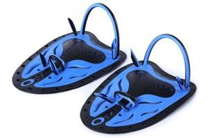 Лопатки для плавания Meryl Whale, синие, р.L