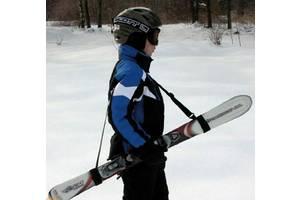 Лыжи, Ремень для переноса лыж, Ремни для лыж, липучки, стяжки