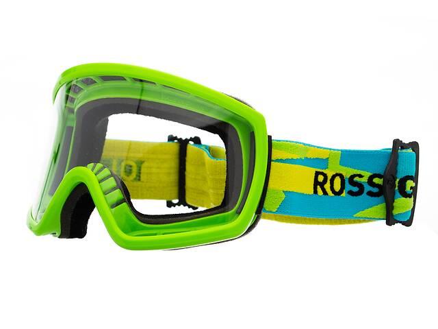 купить бу Маска гірськолижна Rossignol Radical+2Lens Green-Blue (RKCG101) в Львове