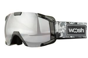 Маска гірськолижна Woosh Black SKL35-239003