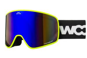 Маска гірськолижна Woosh Lime SKL35-239004