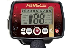 Металлоискатель Fisher F22 + 13 DD катушка Новый Гарантия 2 года