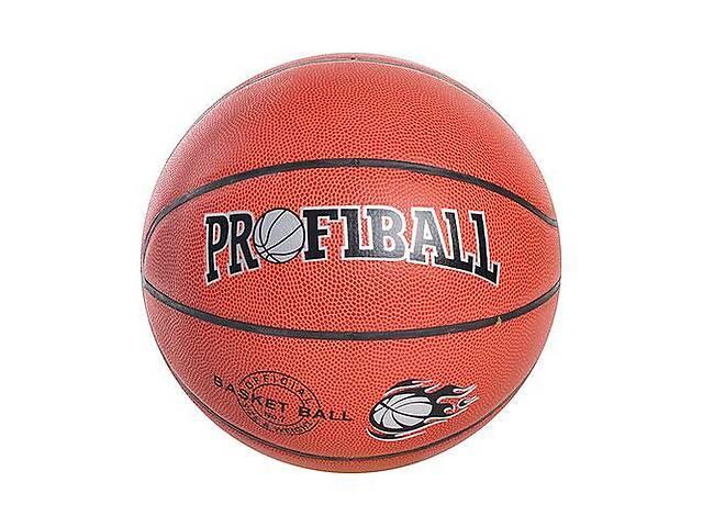 продам Мяч баскетбольный PROFIBALL EV 3158 размер 7 ПВХ 8 панелей (int_EV 3158) бу в Киеве