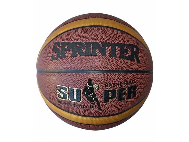 Мяч баскетбольный Sprinter PU-12 Size 7 (spr_09019)- объявление о продаже  в Києві