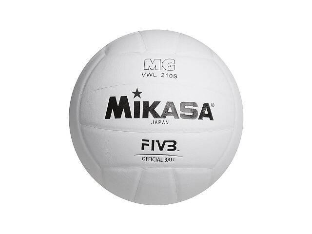 бу Мяч волейбольный Mikasa белый SKL11-289634 в Киеве