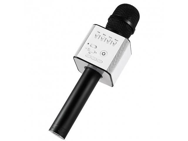 купить бу Микрофон-Караоке колонка 2 в 1 Bluetooth Q9 Black Pro DEV (2749-TD) в Киеве