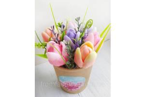 """Мыло сувенирное ароматизированное (разные виды):""""Тюльпаны"""""""