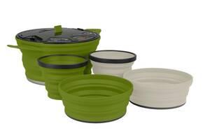 Набір посуд Sea To Summit X-Set 31 Mix Color 2 (STS AXSET31OL)