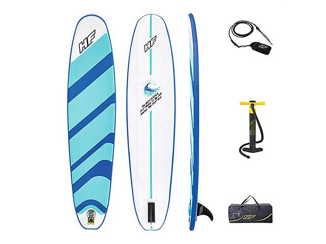 бу Надувная доска для плавания серфинга с веслом SUP-борд BESTWAY 65336  в Украине