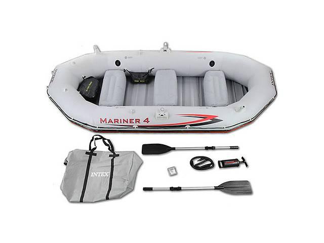 продам Надувная лодка INTEX MARINER-3 с веслом 68376 бу  в Украине