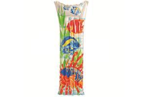 Надувной пляжный матрас Intex 59720 NP. 183-69 см (3 цвета)