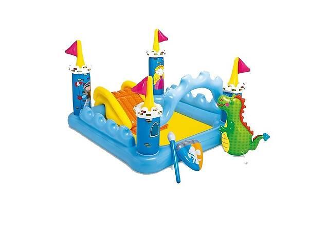 продам Надувной игровой центр бассейн детский Intex 57138 Замок с игрушками (bint_57138) бу в Киеве