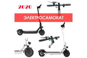 НОВИНКА 2020. Электросамокат Crosser E9 Premium для взрослых и детей (7,5Ah/350W, зарядка в комплекте) до 120кг.