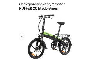 Новый Электронный велосипед Maxxter ruffer  Складывается