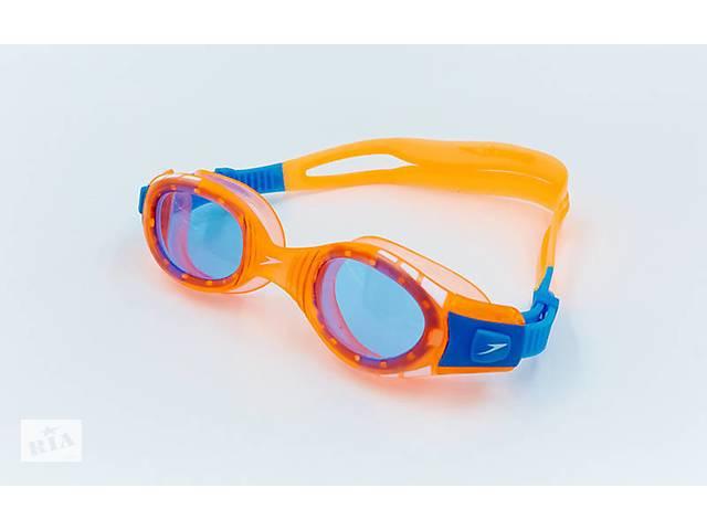 бу Очки для плавания детские SPEEDO FUTURA BIOFUSE JUNIOR 8012330000 Orange (ZA04016) в Киеве