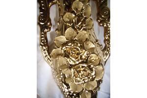 Величезна подарункова ваза, СРСР золотого кольору