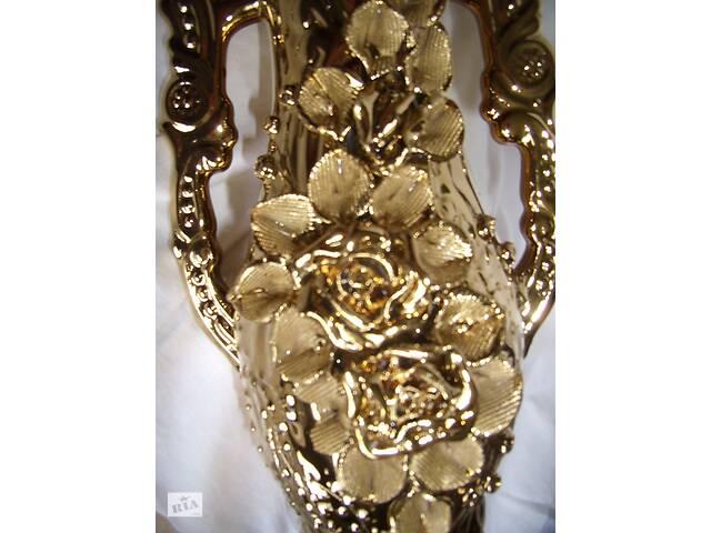 бу Величезна подарункова ваза, СРСР золотого кольору в Киеве