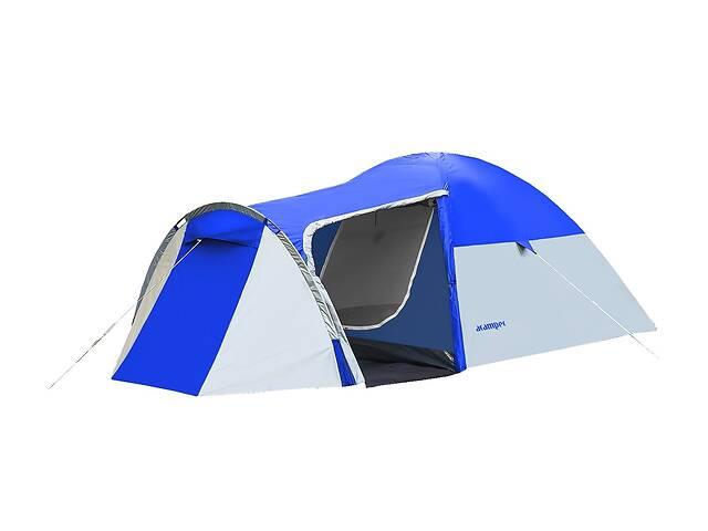 продам Палатка 3-х местная Presto Acamper MONSUN 3 PRO синяя - 3500мм. H2О - 3,4 кг. бу в Києві