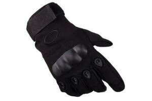 Перчатки тактические Oakley OY-002 черные (gr_017893)
