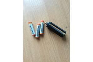 Переходник для батарей (3*ААА на 18650). Для фонаря. Адаптер. + Подарок