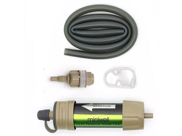 Переносний портативний фільтр для води Miniwell L630 Зелений (100132)- объявление о продаже  в Києві