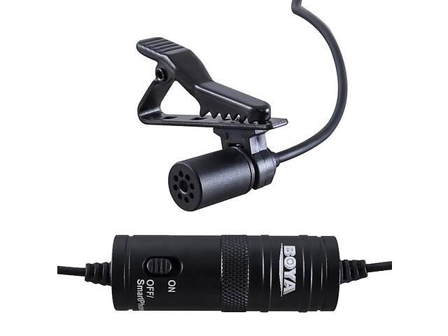 продам Петличный электретный конденсаторный микрофон Boya BY-M1 3,5мм с переходником, копия бу в Харькове