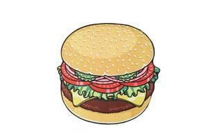 Пляжный Коврик Kronos Top Гамбургер (frs_121462)
