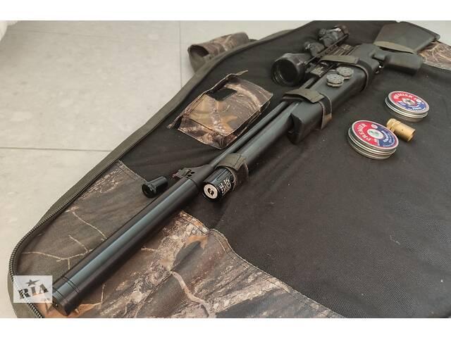 продам Пневматическая винтовка Hatsan AT44-10 4,5мм с насосом и полным комплектом аксессуаров бу в Киеве