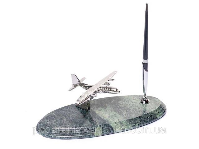 бу Подставка для ручки BST 540052 24х10 с самолетом мраморная в Киеве