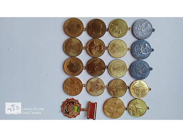 Продам различные медали
