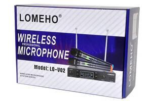 Радиосистема Lomeho LO-V02 радио микрофон беспроводной радиомикрофон