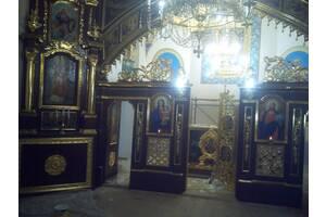 Реставрация старых храмов, церквей. Усунення грибка, гидроизоляция. Реставрация иконостаса. Позолота (недорого)