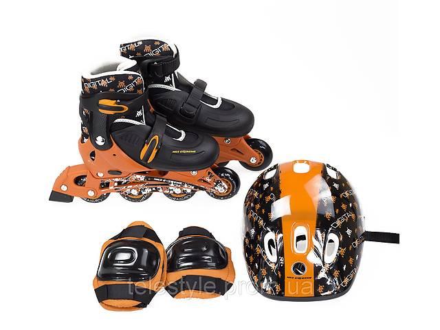 Роликовые коньки Nils Extreme NJ082 Set Size 32-35 Black/Orange- объявление о продаже  в Харькове