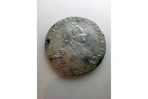 Рубль 1765 года СПБ-TI-ЯI