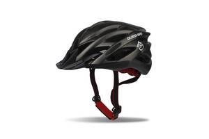 Шлем-защита для велосипедистов со стопом Feel Fit Черный
