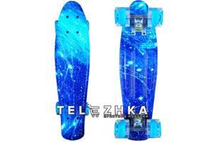 """Скейт пенни борд SkateX Penny Trend Star 22"""""""