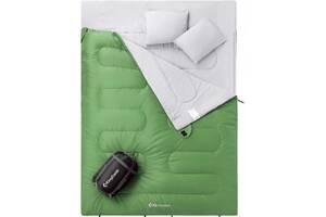Спальный мешок KingCamp Oxygen 250D зеленый