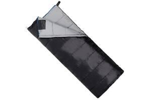 Спальний мішок (спальник) ковдру SportVida SV-CC0069 -3. .. + 21& deg; C L Black/Grey