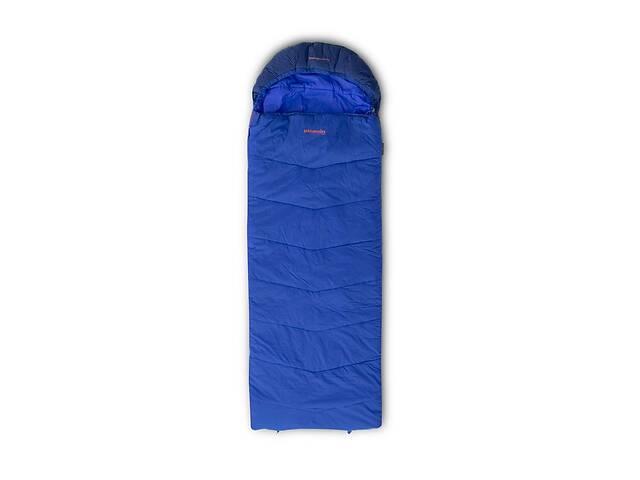 Спальний мішок Pinguin Blizzard Wide PFM 190 2020 Blue Left Zip (PNG 239751)- объявление о продаже  в Львове