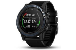 Спортивные часы для дайвинга Garmin Descent Mk1 Dive Computer with Black Band Gray Sapphire (010-01760-12)
