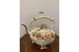Старовинна супниця конфетніца чайник фарфор з Європи