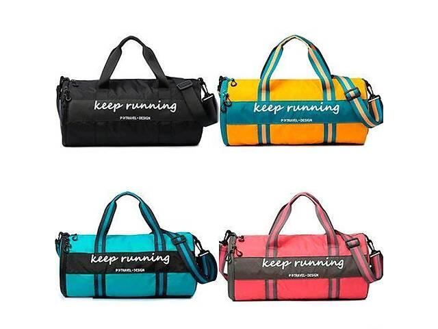 купить бу Сумка спортивная для тренировок спортзала бочонок сумка-тубус, цвета  в Украине