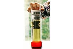 Термофляга SIGG H&C Glass WMB 8555.90 0,4 л, красный