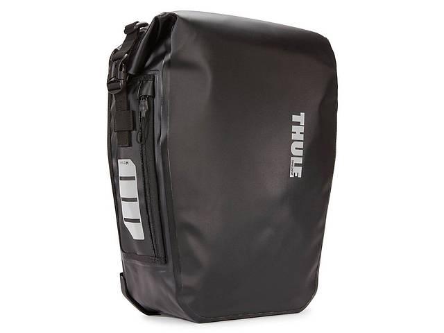 купить бу Тканевая сумка для велосипеда Thule Shield Pannier черная на 17л в Киеве