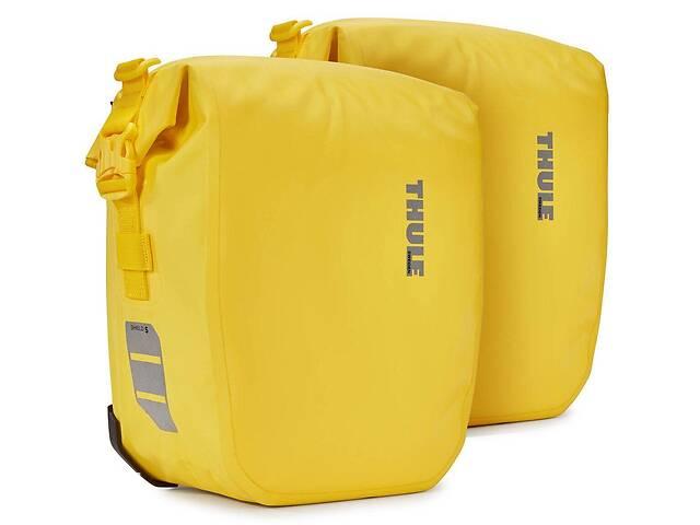 продам Тканевая сумка для велосипеда Thule Shield Pannier желтая на 13л бу в Киеве