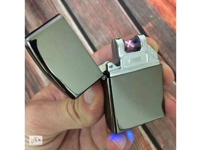 купить бу USB Зажигалка Дуговая (2дуги) подарок мужчине, подарок парню в Кропивницком (Кировоград)