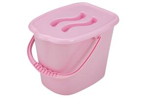 Ведерко для подгузников и воды Maltex Classic 0172  pink