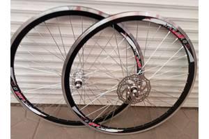 Вело колеса 20,24,26,28 дюймів під дискове гальмо обод подвійний комплект